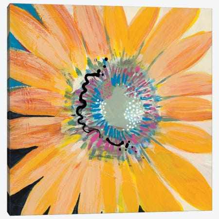 Sunshine Flower IV Canvas Print #BER68} by Leslie Bernsen Canvas Art Print