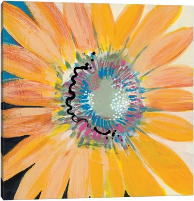 Sunshine Flower IV Canvas Art Print