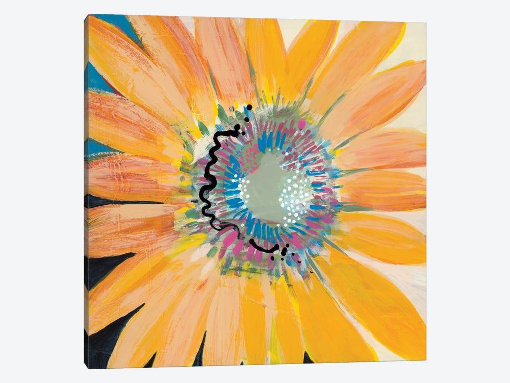 Sunshine Flower IV by Leslie Bernsen 1-piece Canvas Wall Art