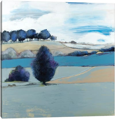 Tree Line Canvas Art Print