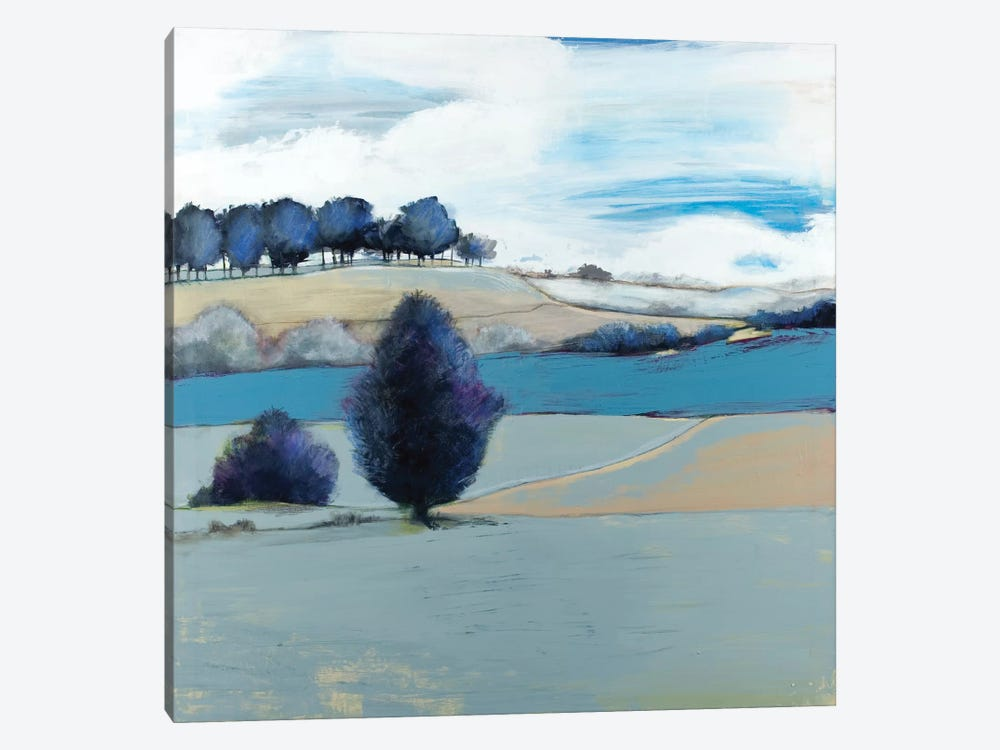 Tree Line by Leslie Bernsen 1-piece Canvas Art Print
