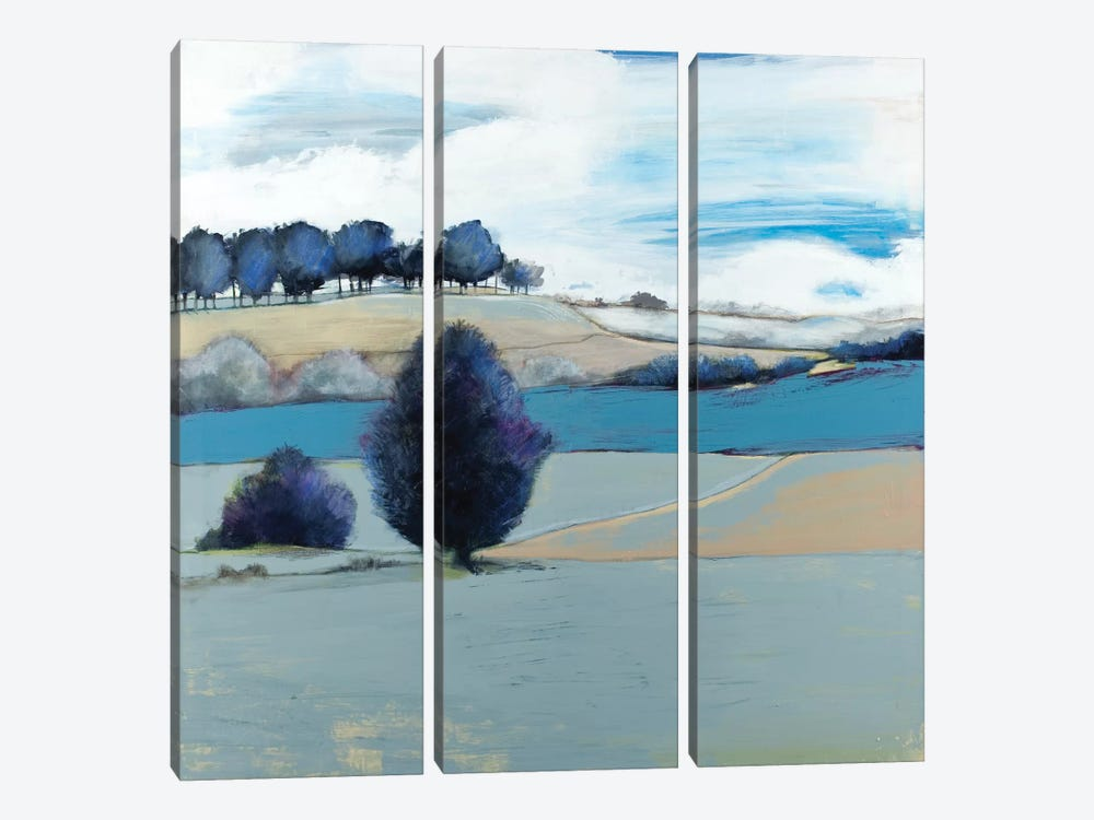 Tree Line 3-piece Canvas Print
