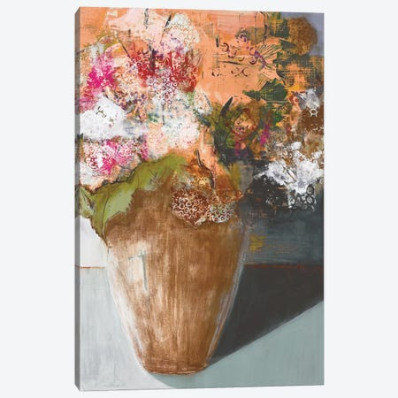 Two Dozen Blooms Canvas Print #BER73} by Leslie Bernsen Canvas Artwork