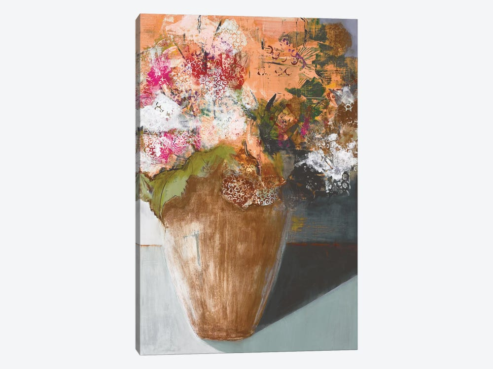 Two Dozen Blooms by Leslie Bernsen 1-piece Canvas Art