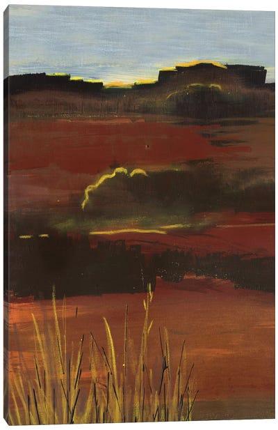 West Range Canvas Art Print