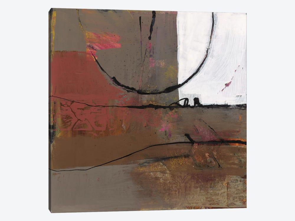 White Resonance I by Leslie Bernsen 1-piece Canvas Wall Art