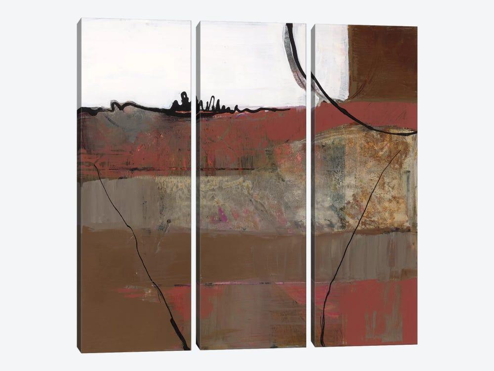 White Resonance II by Leslie Bernsen 3-piece Canvas Art Print