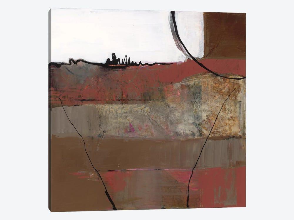 White Resonance II by Leslie Bernsen 1-piece Canvas Art Print