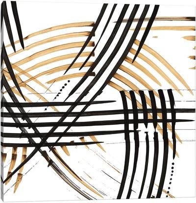 Abstract Curves Canvas Art Print