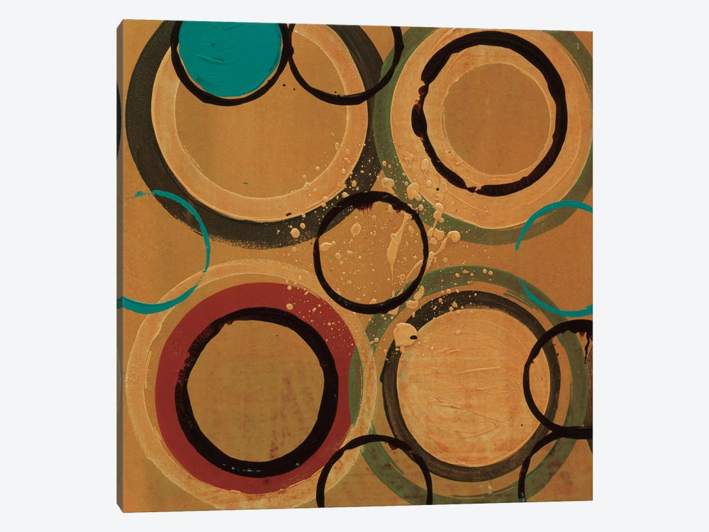 Circle Designs II by Leslie Bernsen 1-piece Art Print