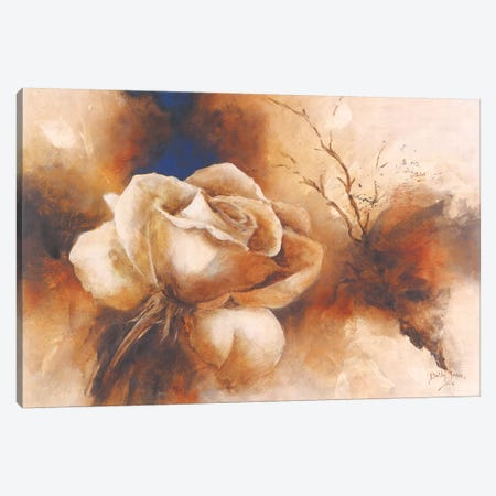 Rose I Canvas Print #BET3} by Betty Jansma Canvas Art