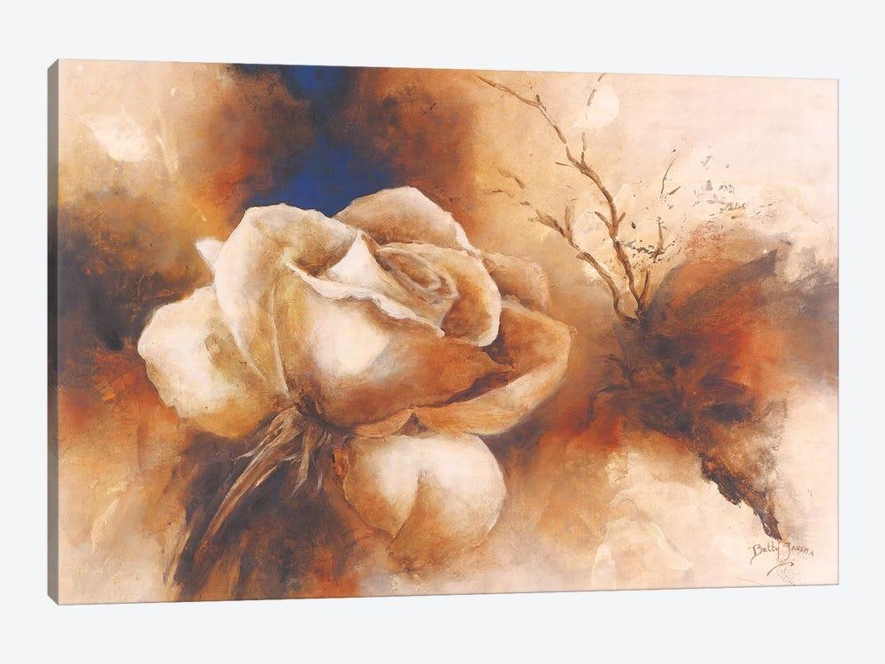 Rose I by Betty Jansma 1-piece Canvas Art