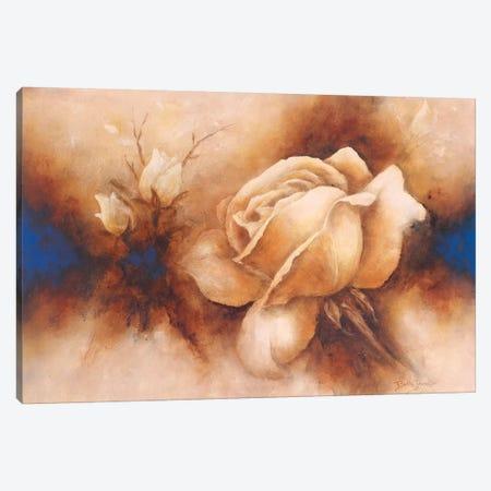 Rose II Canvas Print #BET4} by Betty Jansma Canvas Print