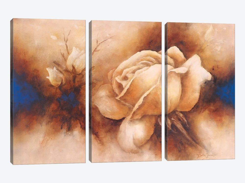 Rose II by Betty Jansma 3-piece Art Print