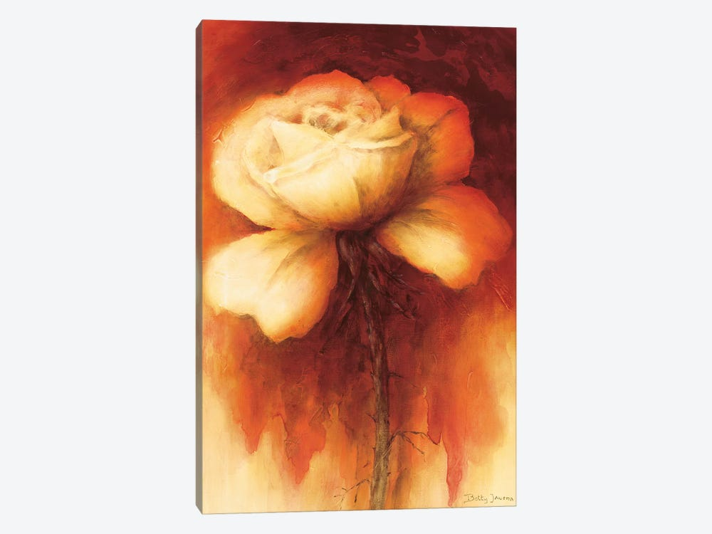 Roses I by Betty Jansma 1-piece Canvas Art