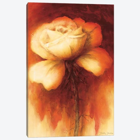 Roses I Canvas Print #BET5} by Betty Jansma Canvas Art Print