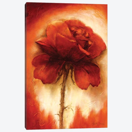 Roses II Canvas Print #BET6} by Betty Jansma Canvas Art Print