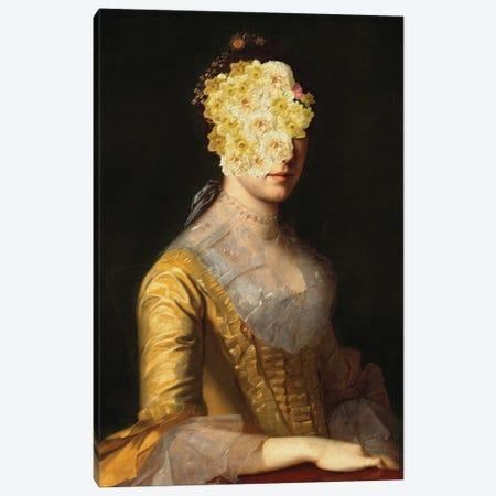 Flower-Headed Noblewoman I Canvas Print #BFD53} by Bona Fidesa Canvas Wall Art