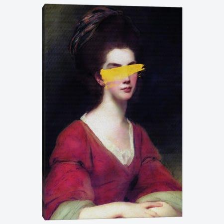Altered Vintage Woman Portrait I Canvas Print #BFD71} by Bona Fidesa Canvas Wall Art