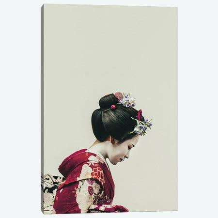 Geisha Portrait Canvas Print #BFD73} by Bona Fidesa Canvas Artwork