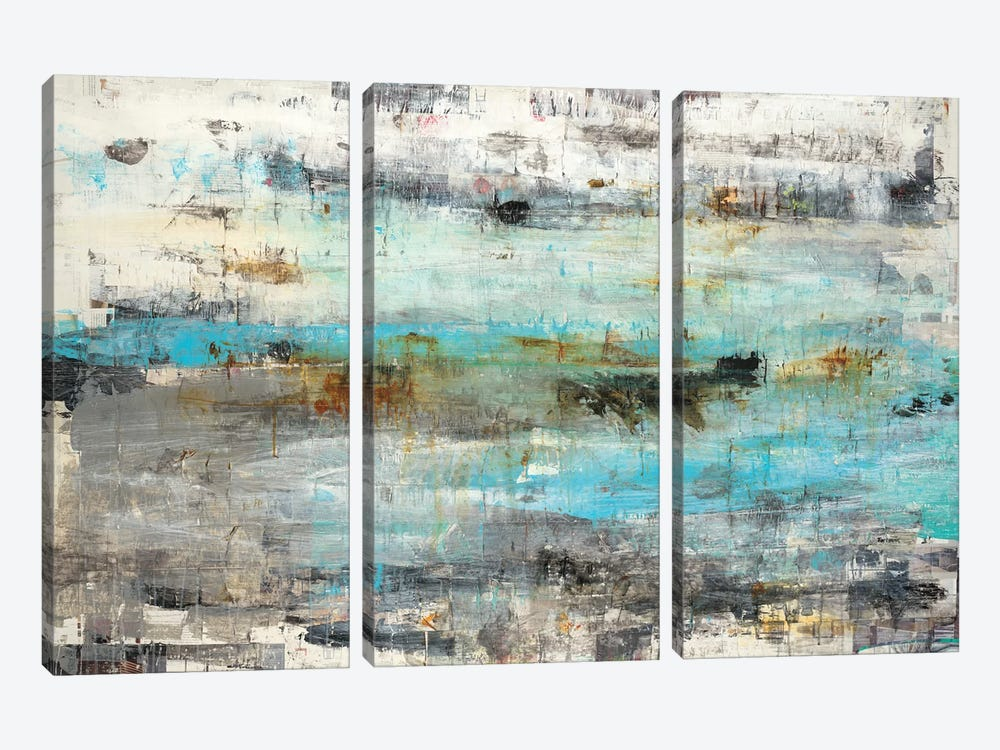 Systemic by Brent Foreman 3-piece Canvas Print
