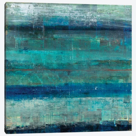 Surface #17 3-Piece Canvas #BFO11} by Brent Foreman Art Print