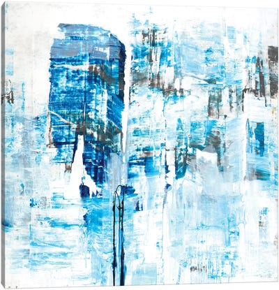 Azure Dreams Canvas Art Print