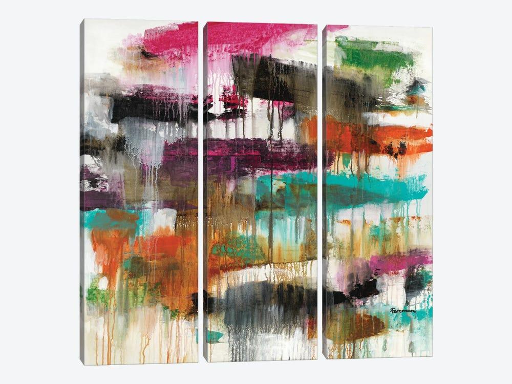 Inertia #2 by Brent Foreman 3-piece Canvas Art Print