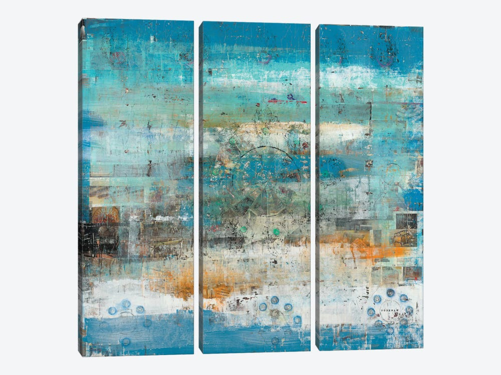 Mandalo by Brent Foreman 3-piece Canvas Artwork
