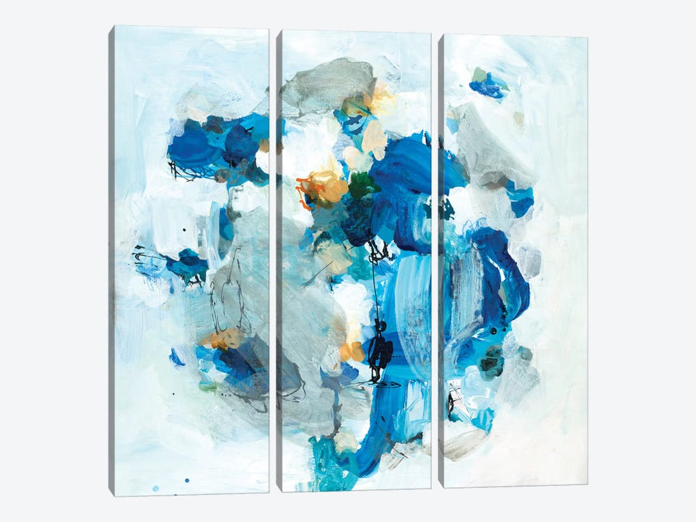 Revival XI by Brent Foreman 3-piece Canvas Art