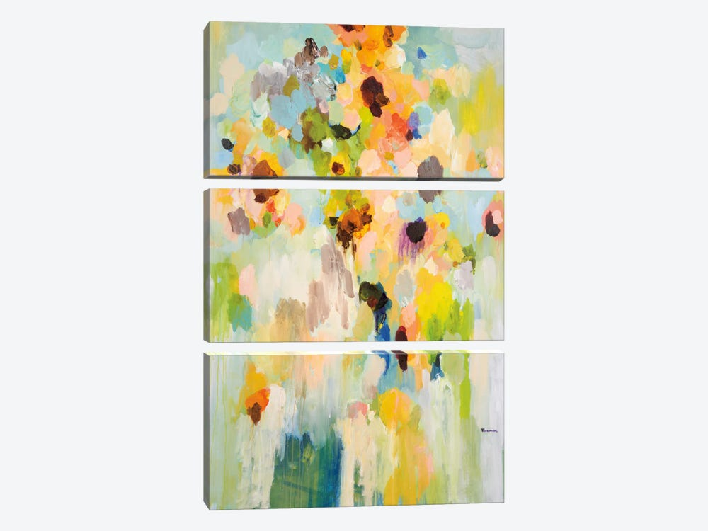 Pieces Of Today by Brent Foreman 3-piece Canvas Print