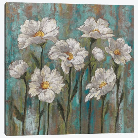 Jenny's Garden I Canvas Print #BFR12} by Brian Francis Canvas Wall Art