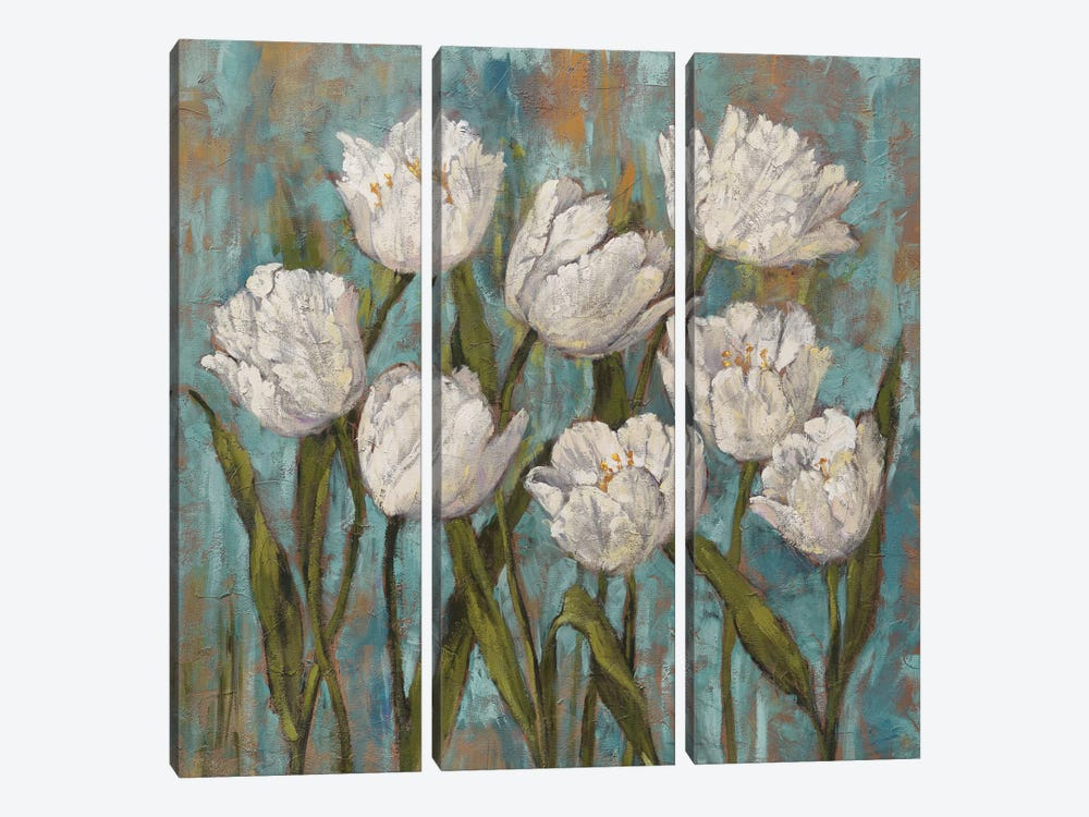 Jenny's Garden II by Brian Francis 3-piece Canvas Artwork