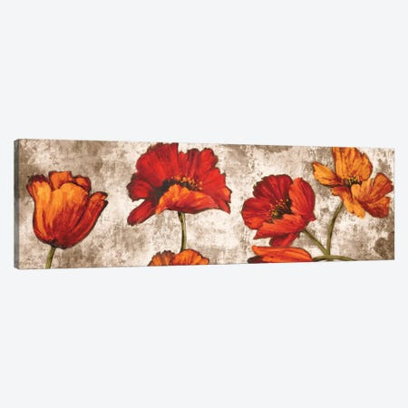 Poppy Paradise Canvas Print #BFR18} by Brian Francis Canvas Artwork