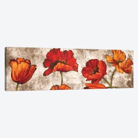 Poppy Paradise Canvas Print #BFR18} by Brian Francis Canvas Artwork