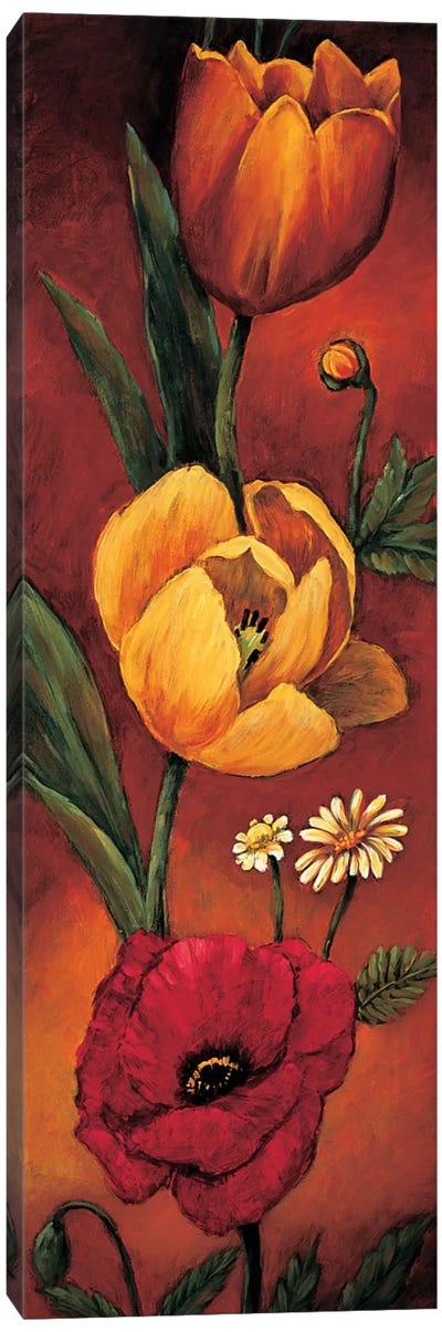 The Flower Garden II Canvas Art Print