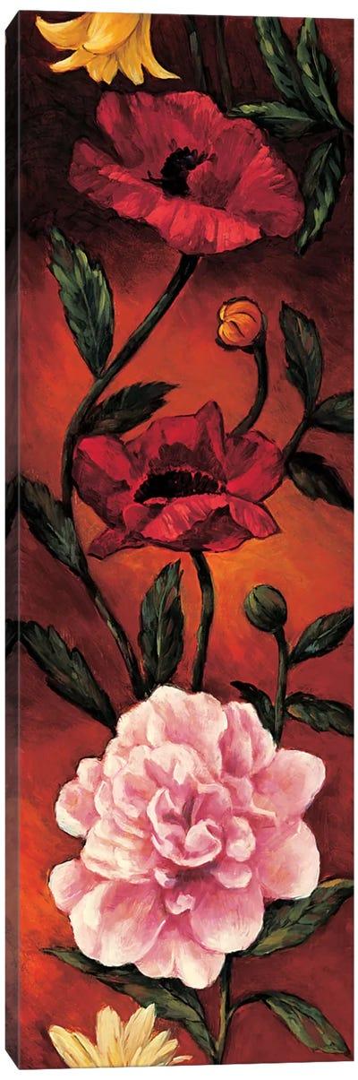 The Flower Garden III Canvas Art Print