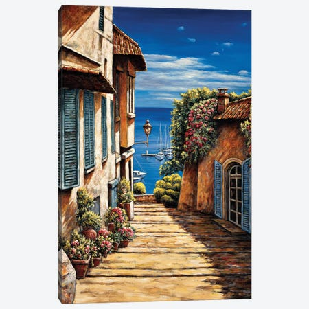 Antibes 3-Piece Canvas #BFR30} by Brian Francis Canvas Artwork