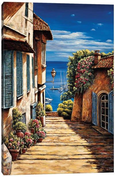 Antibes Canvas Art Print