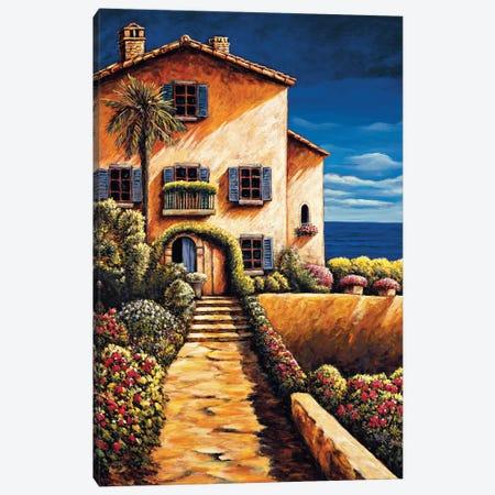 Saint Tropez 3-Piece Canvas #BFR31} by Brian Francis Canvas Artwork