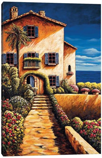 Saint Tropez Canvas Art Print