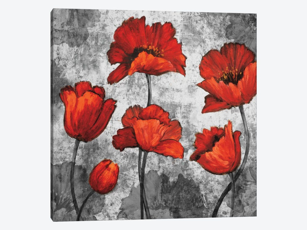 Evening Red I by Brian Francis 1-piece Canvas Print