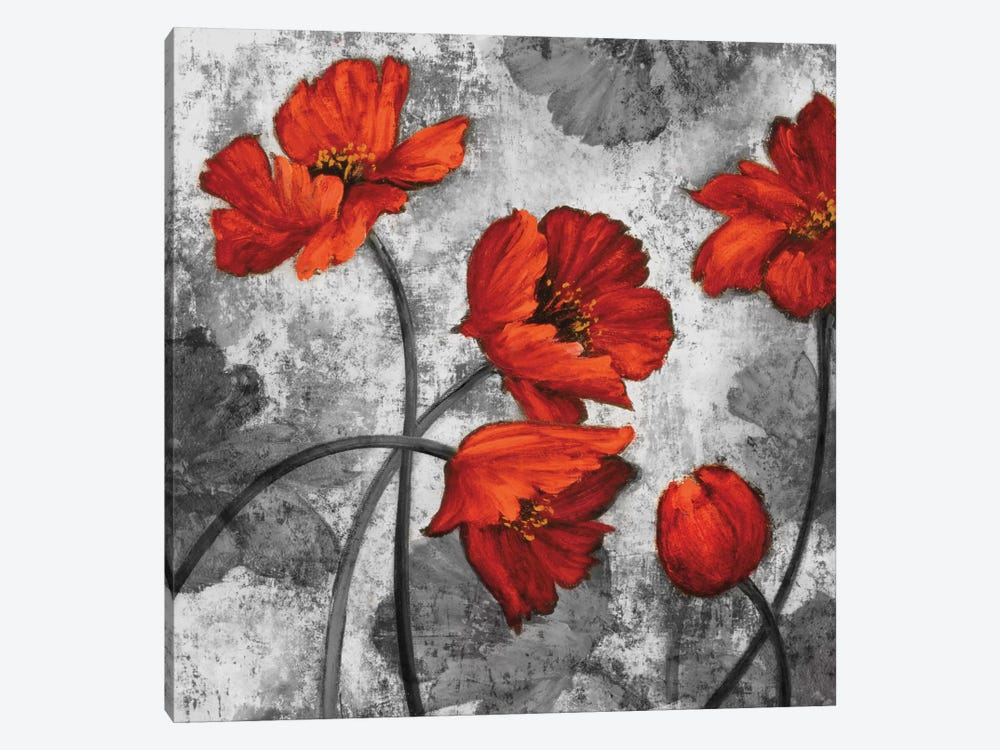Evening Red II by Brian Francis 1-piece Canvas Artwork