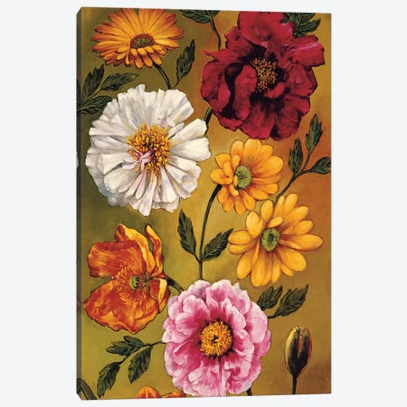 Floral Bouquet I Canvas Print #BFR8} by Brian Francis Canvas Art Print