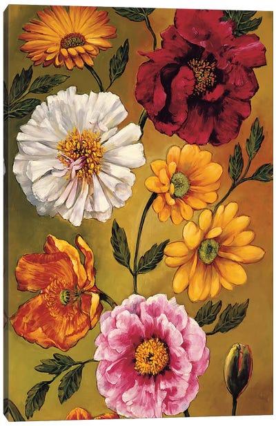 Floral Bouquet I Canvas Art Print