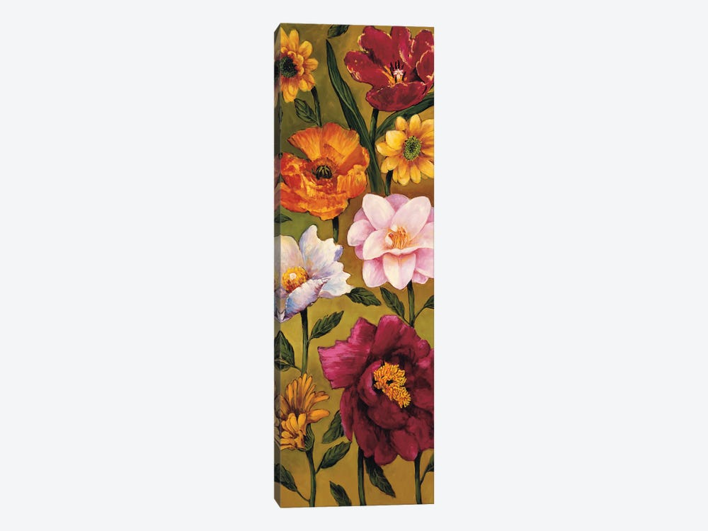 Floral Bouquet II by Brian Francis 1-piece Canvas Artwork