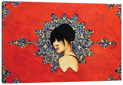 Peace Lady Collection IV Canvas Art Print