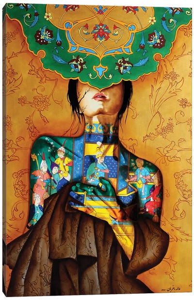 Peace Lady Collection VI Canvas Art Print