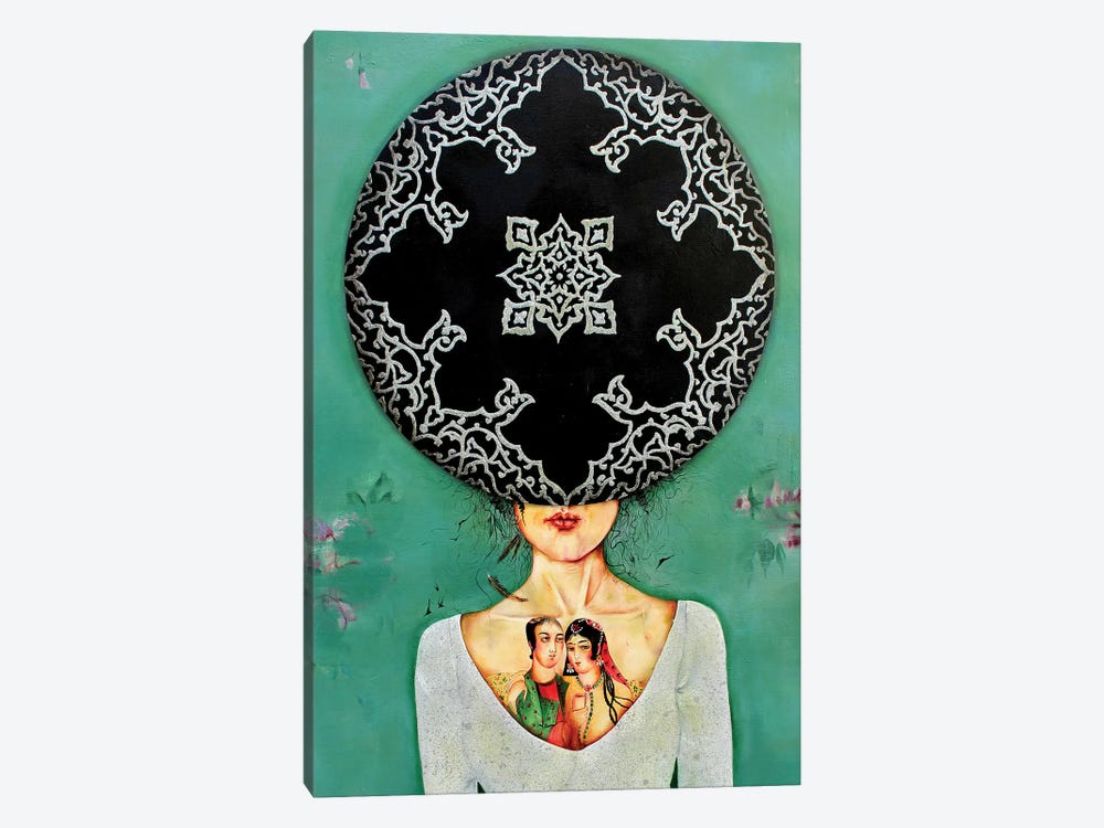 War Lady Collection II by Alemeh Bagherian 1-piece Canvas Art