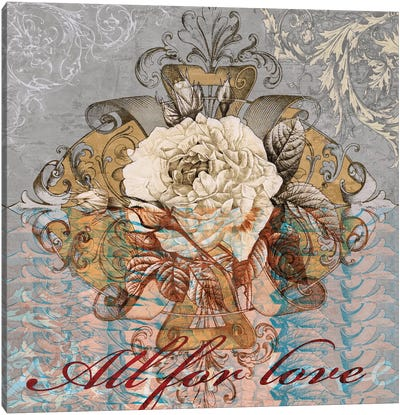 All for Love Canvas Art Print